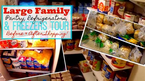 The Family Pantry by Refrigerator Freezer Pantry Tours Archives Large Family