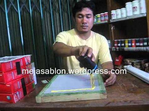 membuat warna coklat sablon cara membuat stempel warna dan merakit mesin stempel warna