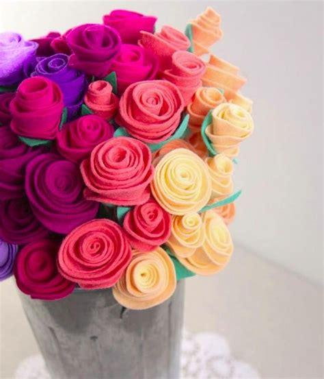 cara membuat bunga mawar dari kain flanel cara membuat kerajinan bunga dari kain flanel 15 kreasi