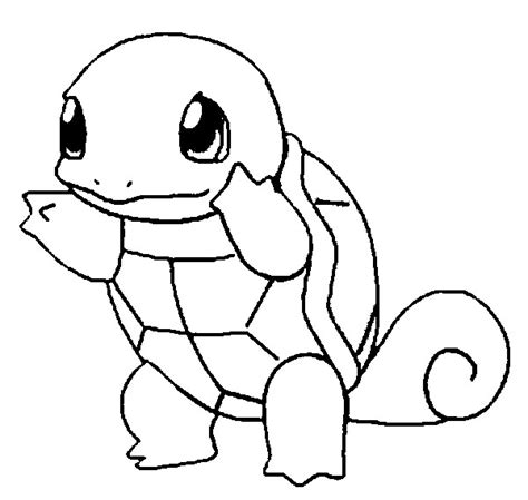 coloring pages pokemon squirtle drawings pokemon