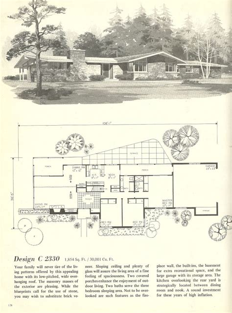 1960s house plans 17 best images about architectural plans and technical