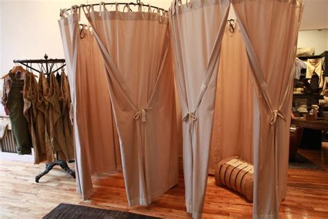 dressing room curtains how to make a changing room with curtains 2 wall decal