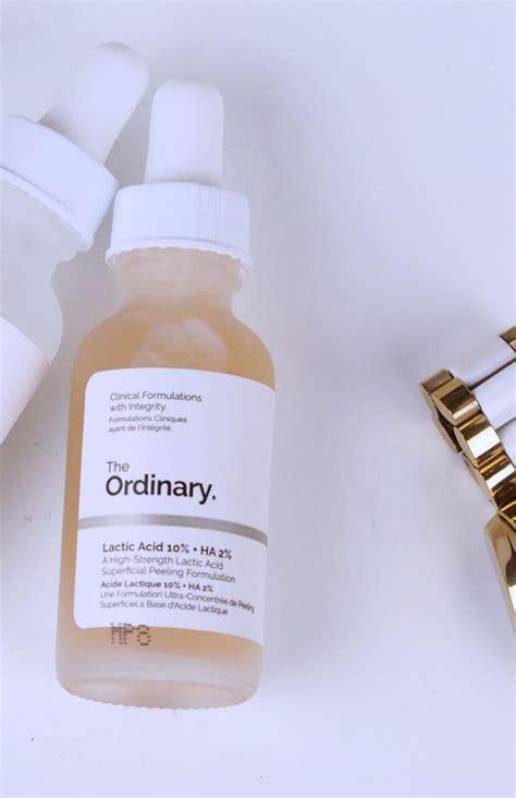 Ordinary Lactic Acid 10 Ha 2 the ordinary lactic acid 10 ha 2