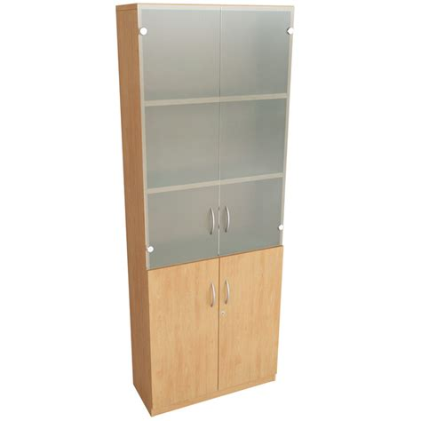 Office Bookcases With Doors Dorset Office Furniture Seating Desks Reception Furniture Bookcase 4 Shelf Doors