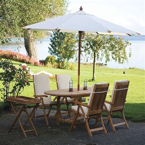 royal terrace outdoor furniture estate teak dining collection by royal teak collection family leisure