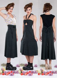 Clothing Busana X S M L convertible dress the skirt is not a circle