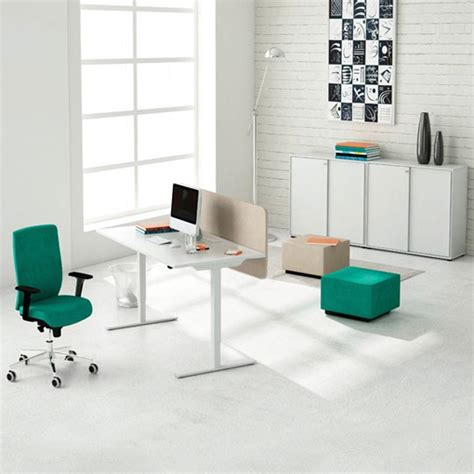 sit stand office desk standing desks sit stand meridian office furniture