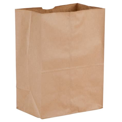 Paper Bags From Newspaper - duro 1 8 brown paper barrel sack 500 bundle
