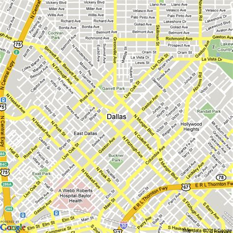 map us dallas map of dallas united states hotels accommodation