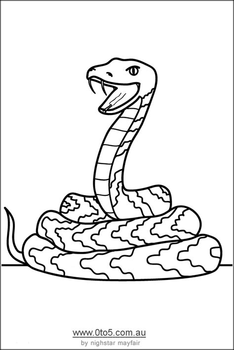S Snake Coloring Page by Realistic Snake Coloring Pages Coloring Home