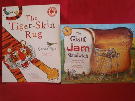 the tiger skin rug picture books helen docherty