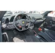 458 Speciale Interior Italia Ferrari