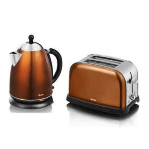 Toasters And Kettles Swan Copper Kettle And 2 Slice Toaster Sk24011copn
