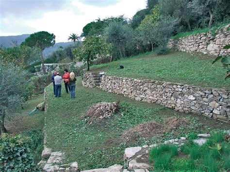 terrazzamenti liguri giardini