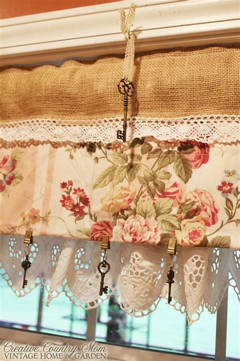 sewing burlap curtains creative country mom s sewing burlap and lace curtains