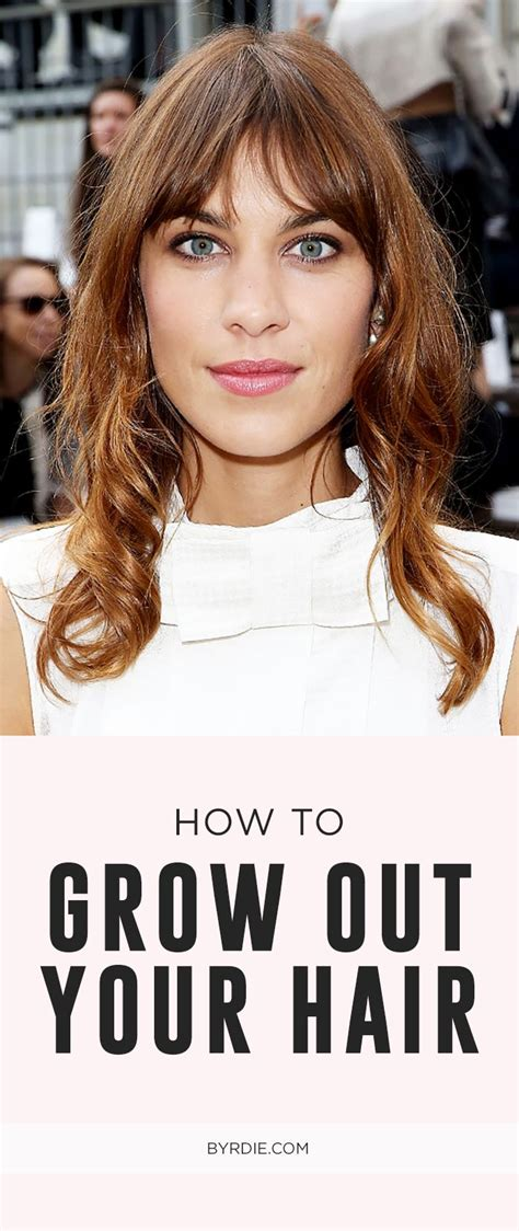 in between haircuts for growing out hair growing out your hair here s how to avoid the awkward stage