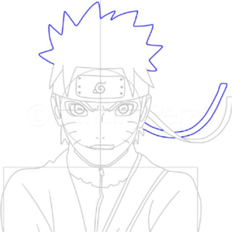 Tutorial Cara Menggambar Anime Naruto | tutorial menggambar sketsa naruto cara menggambar anime
