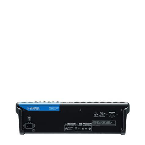 Mixer Yamaha 20 Xu mixer audio yamaha mg16 xu