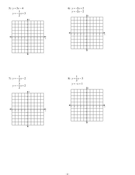 Solving System Of Equations By Graphing Worksheet by Graphing Systems Of Equations Worksheet Lesupercoin
