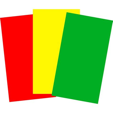 red yellow green