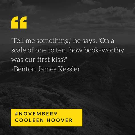 November 9 By Colleen Hoover 481 best images about colleen hoover author on maybe someday and