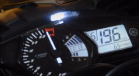 speedometer top speed top speed yzf r25 tembus 196kpj on speedometer tanpa beban