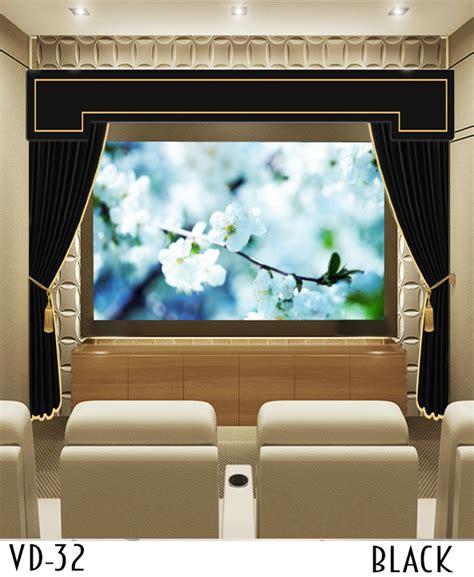 projector screen curtain curtain projector screen ideas