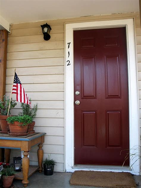 door paint colors quot chipotle paste quot behr paint for new door color colorful