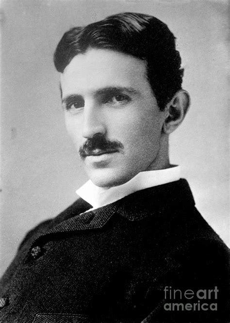 Nikola Tesla Srpski Nikola Tesla Serbian American Inventor Photograph By