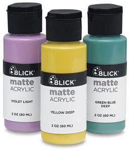 Blick Matte Acrylics Blick Materials