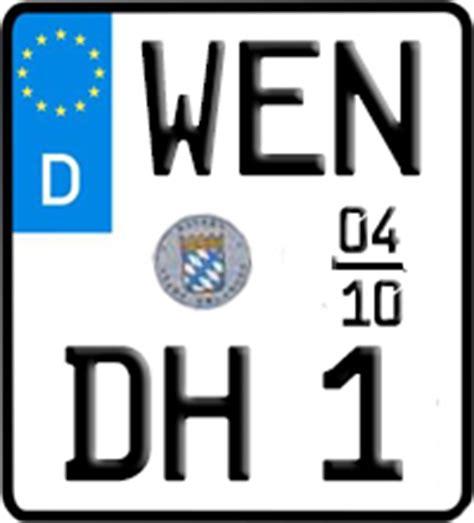 125er Motorrad Fahrzeugbrief by Motorradkennzeichen Sonderkennzeichen In Weiden