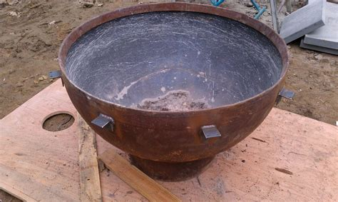 handmade pit handmade outdoor gas pit by sawdust steel custommade