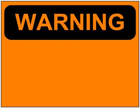 Free Printable Warning Signs Download Free Clip Art Free Clip Art On Clipart Library Caution Sign Template