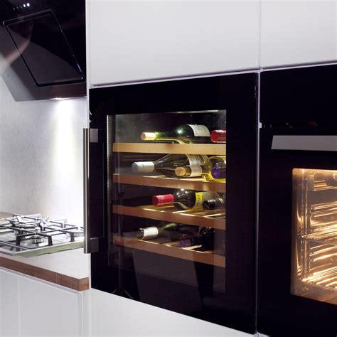 installing wine fridge in integrated wine cooler homeideas pinterest kitchen