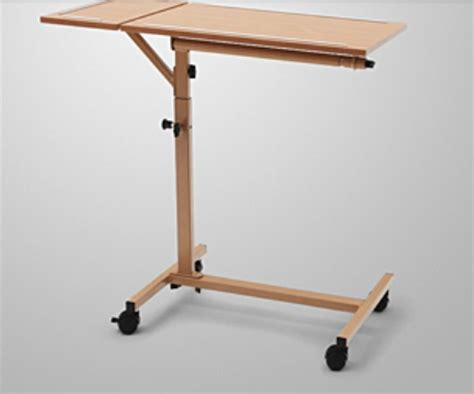 burmeier duo overbed table hospital bed accessories