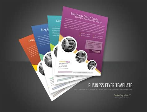 templates for a business flyer business flyer template psdbucket com