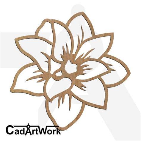 flower pattern dxf lotus 2 cadartwork
