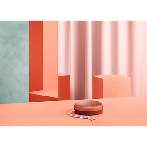 Olufsen Bluetooth Speaker Beoplay A1 Tangerine buy b o play by olufsen beoplay a1 portable