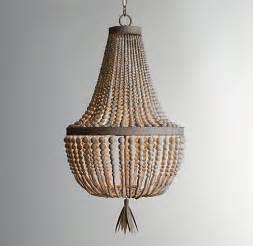 child chandelier rh baby child dauphine wood empire chandelier decor