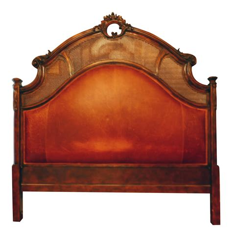 size leather headboard century king size leather headboard chairish