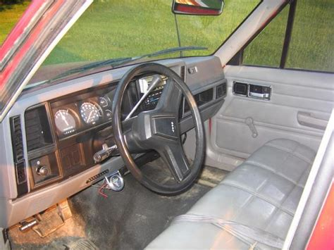 1988 jeep comanche interior 88jeeptruck 1988 jeep comanche regular cab specs photos