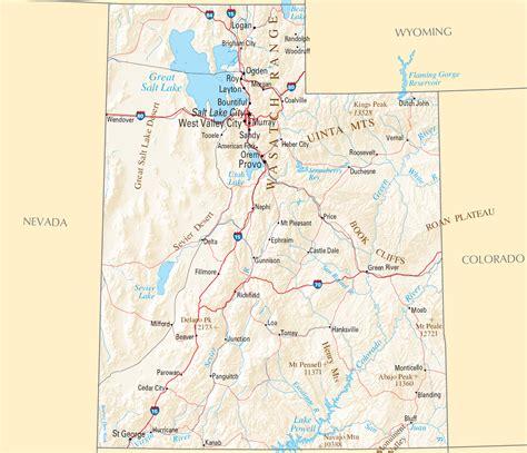 map of utah highways new york map utah political map new york map