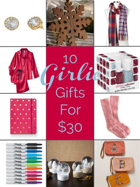 10 girlie christmas gift ideas for 30 or less