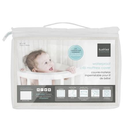 mattress pads for cribs waterproof mattress pad for crib for crib by kushies