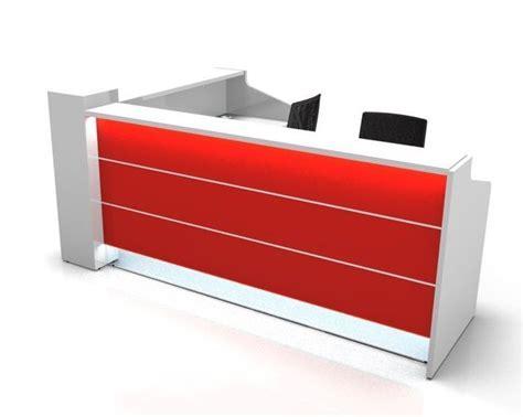 valde l shaped reception desks office reality