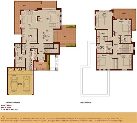 arabian ranches floor plans arabian ranches communities