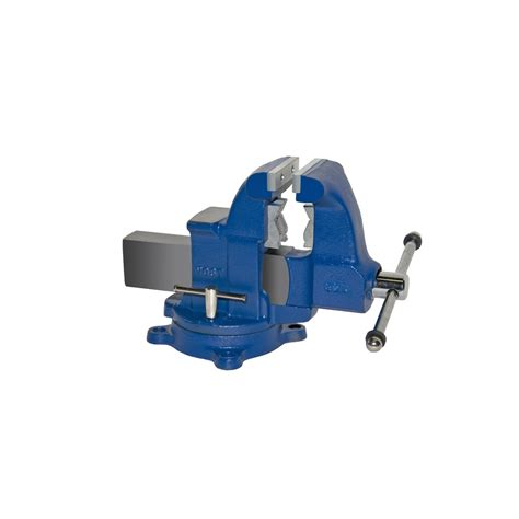 pipe bench vise shop yost 4 1 2 in ductile iron combination pipe bench