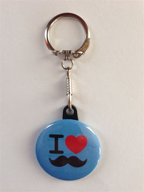 Handmade Keychains For - i mustache keychain handmade keychain mustache