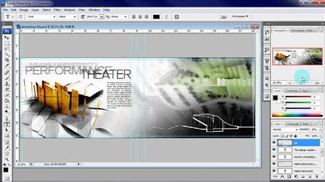 Architecture Portfolio Tutorial Adding Text Youtube Photoshop Portfolio Template