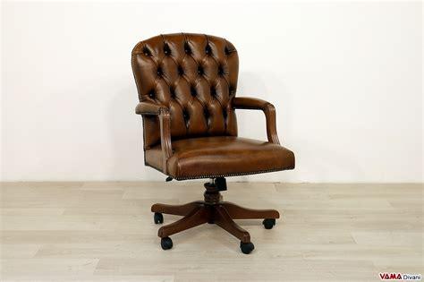 poltrone classiche in pelle poltrone da ufficio e sedie in pelle classiche con girevole